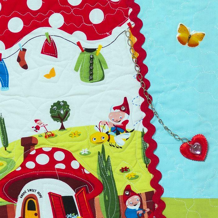 תמונת קיר מעוצבת ומפוסלת במדינת הגמדים שמחה והמולה