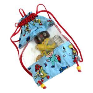 תיק התחבורה שקוף לילדים עם סמי הכבאי
