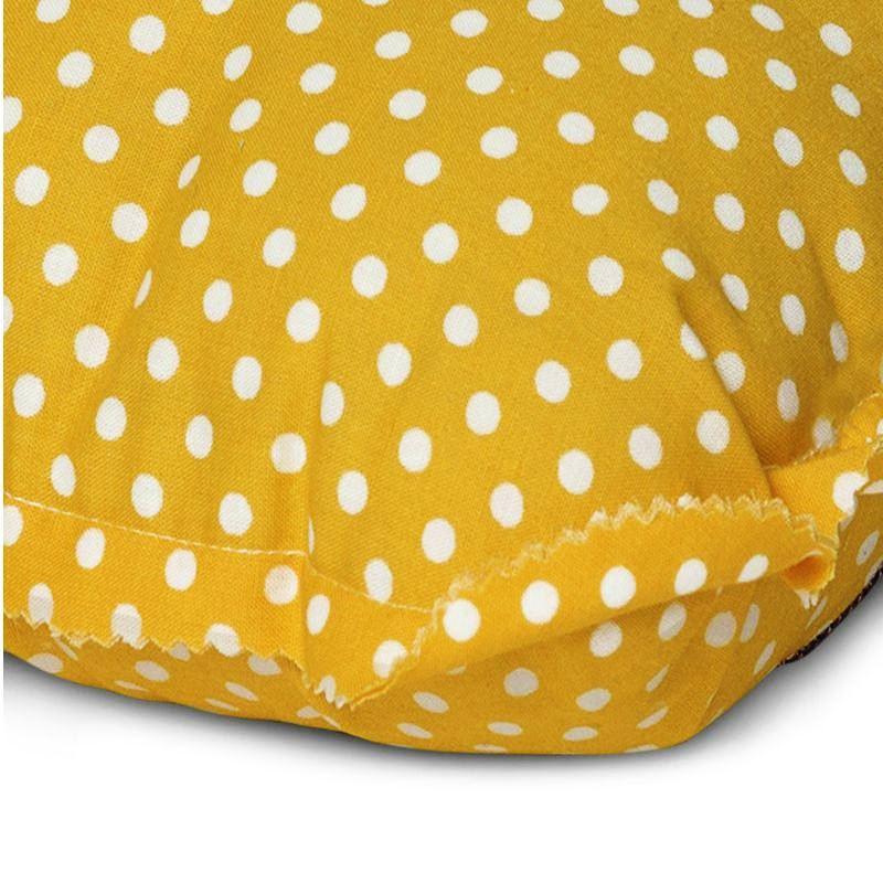 בובות חבוק רטרו בונט צהובה נקודות